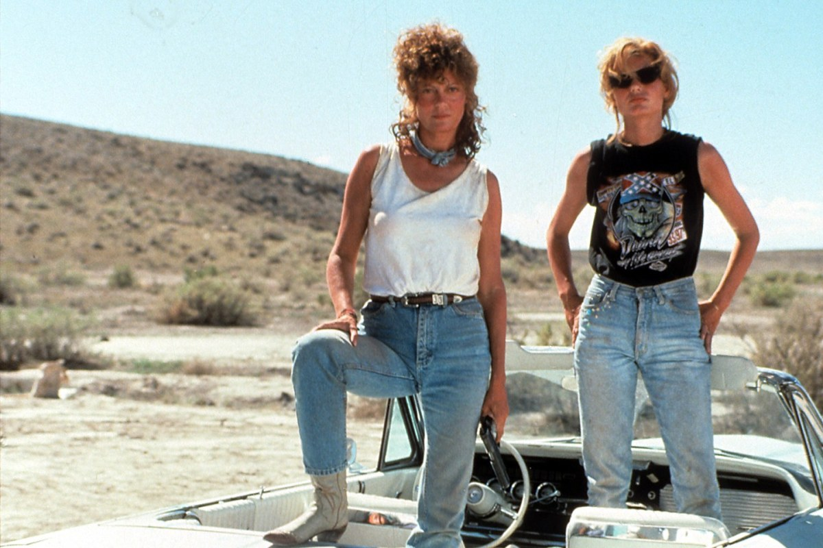 'Thelma and Louise' and the feminisation of the road